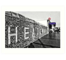 Dagenham Heathway Tube Station Art Print