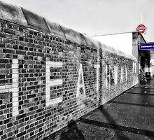 Dagenham Heathway Tube Station by AntSmith