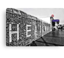 Dagenham Heathway Tube Station Canvas Print