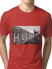 Dagenham Heathway Tube Station Tri-blend T-Shirt