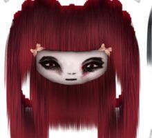 Little Scary Dolls Sticker
