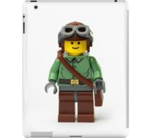 Green Ranger Minifig with goggles iPad Case/Skin