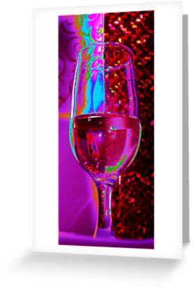 Pink Champagne by Linda Bianic