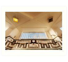 Ealing Common Tube Station Art Print
