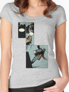 Leroy Guards The CIty Women's Fitted Scoop T-Shirt