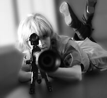 Seras Victoria from Hellsing by Okeesworld