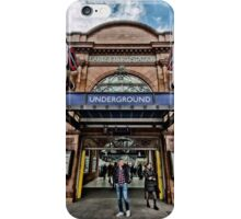 Earl's Court Tube Station iPhone Case/Skin