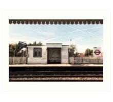 East Acton Tube Station Art Print