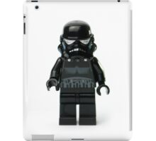 Darth Minifig iPad Case/Skin