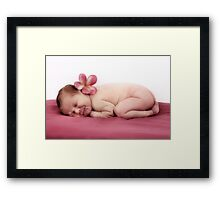 Summer Baby Framed Print