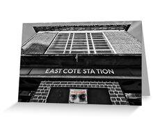 Eastcote Tube Station Greeting Card