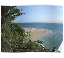 coral island beach  Poster