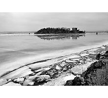 Hudson River Winter Photographic Print