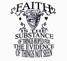Faith_Black Unisex T-Shirt