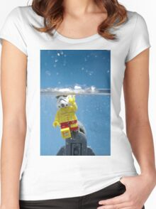 Star-Jaws 2 Women's Fitted Scoop T-Shirt