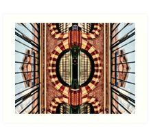 East Putney Tube Station Art Print