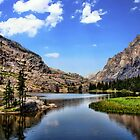 Elk Lake, Beartooth Mountains, Montana by James Larson