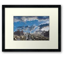 Passing of the industrial age  Framed Print