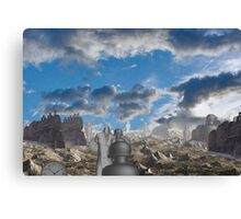 Passing of the industrial age  Canvas Print
