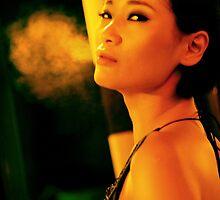 Complicated status: Smoke girl 1 by jimmytan