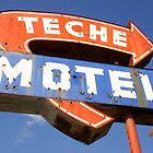 Teche Motel by Joerg Schlagheck