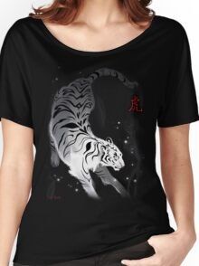 Candle Flies Tiger Women's Relaxed Fit T-Shirt