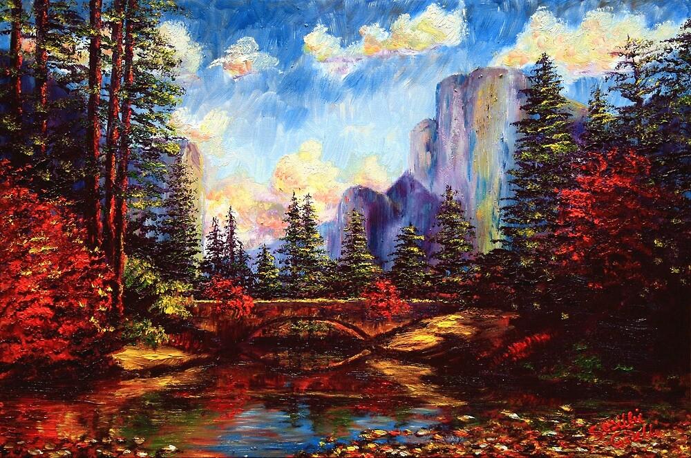 The Bridge in Yosemite by sesillie