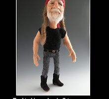 Li'l Willie - Needle Felted Art Doll by feltalive