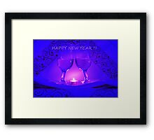 Happy New Year ! Framed Print