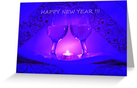 Happy New Year ! by Linda Bianic