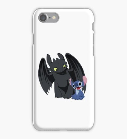 Stitch and Toothless iPhone Case/Skin