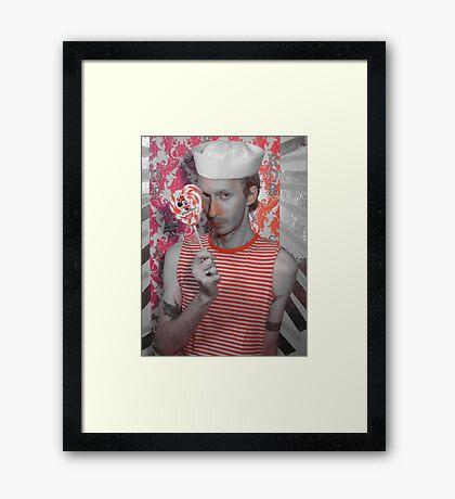 sailor Framed Print