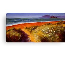 Oregon Path on the Pacific Canvas Print