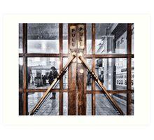 Edgware Tube Station Art Print