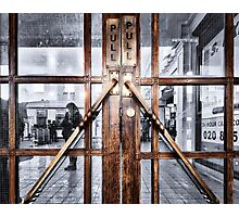 Edgware Tube Station Photographic Print