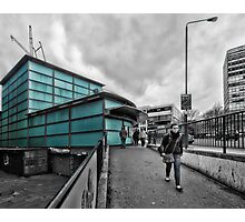 Elephant & Castle Tube Station Photographic Print