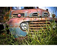Old Ford Truck Photographic Print