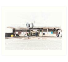 Elm Park Tube Station Art Print