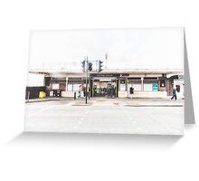 Elm Park Tube Station Greeting Card