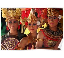 Indonesia 5 - Balinese Legon Dancers  Poster
