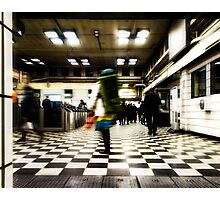Embankment Tube Station Photographic Print