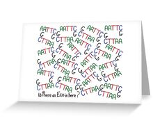 Is there an Eco in here? Greeting Card