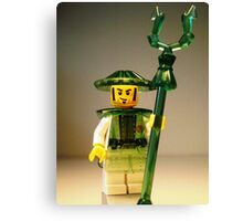 Ching Dynasty Chinese Custom Minifigure Canvas Print