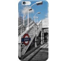 Epping Tube Station iPhone Case/Skin
