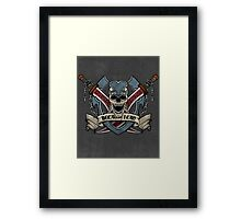 Because I Can. Framed Print