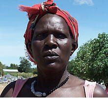 Gulu quarry woman, Uganda Photographic Print