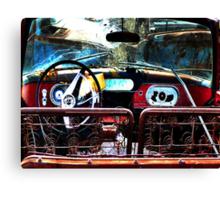 Back Seat Driver  ( BoneYard Series ) Canvas Print
