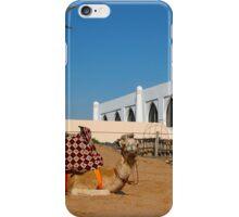 Camel in Morocco iPhone Case/Skin