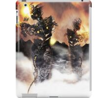 Mechanised Desert wanderers [Digital Figure Illustration] Version 1 iPad Case/Skin
