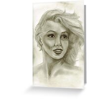 Candle in the Wind - Marilyn Monroe aka Norma Jeane  Greeting Card